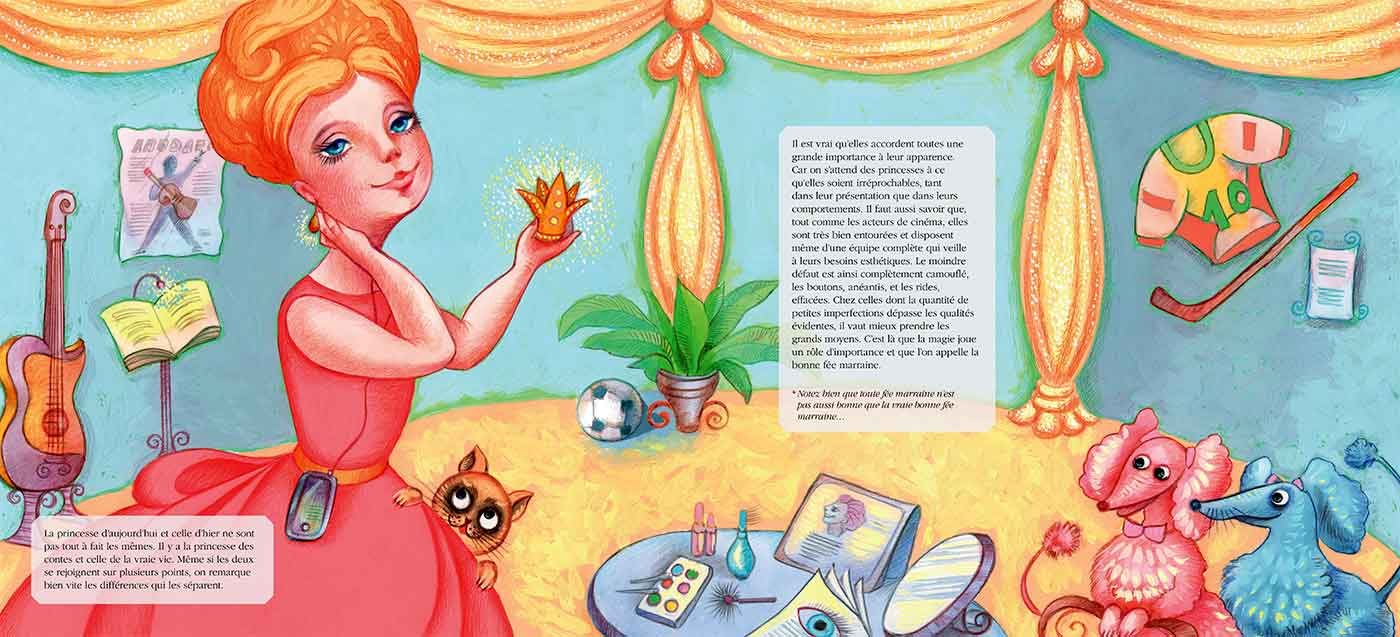 Princess room - Chambre de princesse