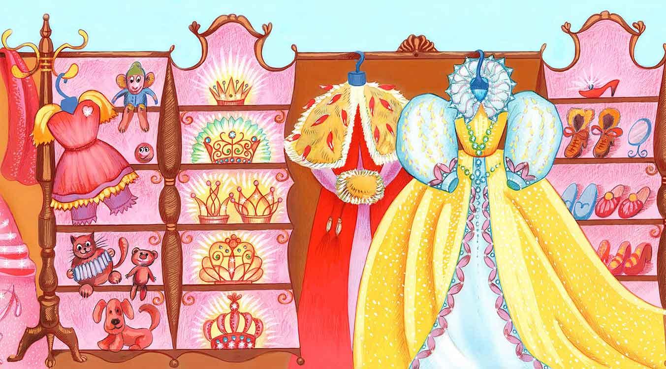 Royal wardrobe - garde-robe royale